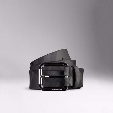 صورة Reversible Horseferry Check Belt