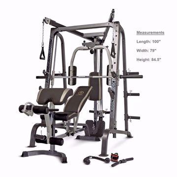 صورة Marcy Smith Cage Workout Machine Total Body Training Home Gym System with Linear