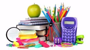صورة لقسم الأدوات المدرسية