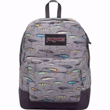 Picture of JanSport Black Label Superbreak, Backpack, Multi Fishing Lures