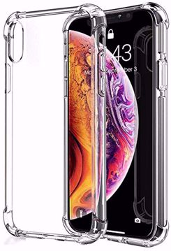 Picture of back cover defender for Iphone XS MAX -clear