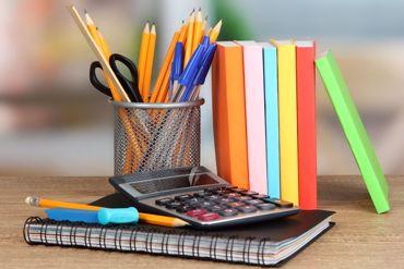 صورة لقسم الأدوات المكتبية