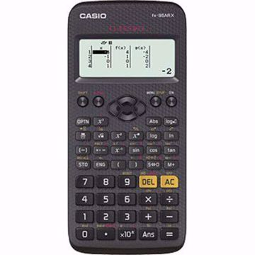 Picture of Casio fx-95AR X ClassWiz Scientific Calculator, 10 + 2 (10 Mantissa + 2 Exponential) Digit, Full Dot Matrix, Black