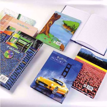 Sinarline A5 Single Line Ruling , Hard Cover Note Book