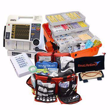 صورة لقسم معدات الطوارئ