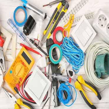 صورة لقسم كهربائية