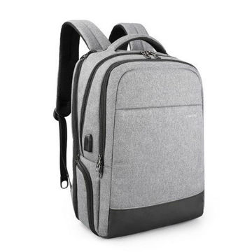 Picture of Tigernu T-B3533 Business USB Charging 15 Inch Anti theft Laptop Backpacks Male Mochila Water Resistant School Bag