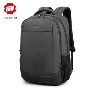Picture of Tigernu T-B3503 15.6″ Laptop Backpacks For Men Women Anti Theft School Bagpack Male Mochilas Solid Rucksack