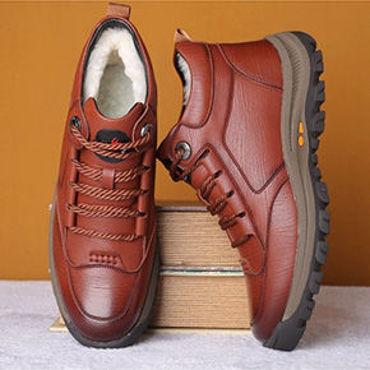 صورة لقسم احذية رجالي