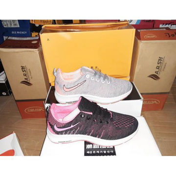 Sports shoes with mesh cloth of various colors with fastening من هب له.كوم