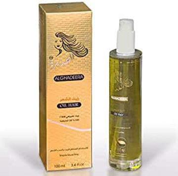 Al-Ghadeer oil for hair loss, weakness and breakage من هب له.كوم