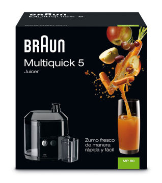 Picture of Braun MP80 Multiquick 5 600W Professional Juice Extractor Juicer